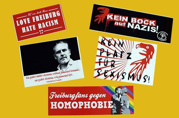 Der SC Freiburg ist BUNT nicht braun!