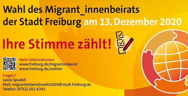 Jetzt Briefwahl beantragen oder am 13. Dezember 2020 wählen gehen.  Ihre Stimme zählt!
