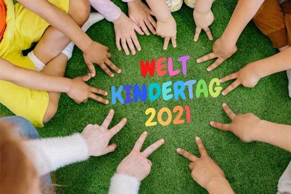 """Weltkindertrag 2021   Der diesjährige Weltkindertag trägt das Motto """"Kinderrechte jetzt!"""""""